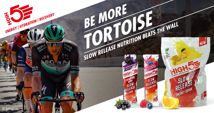 High5 Slow Release Energy Gels drinks and bars