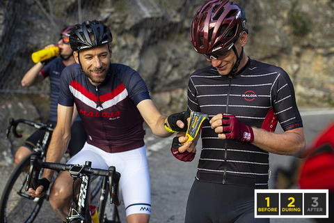 PowerGel Shots great for cyclists and runners