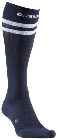 Zeropoint Compression socks black 2 stripes