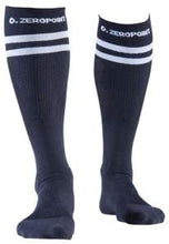 Load image into Gallery viewer, Zeropoint Compression socks black 2 stripes long