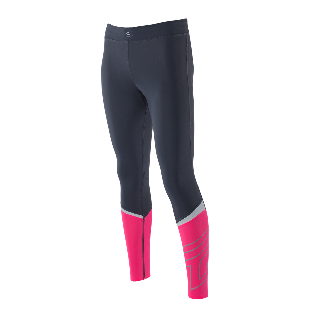 Zeropoint Compression tights black pink womens