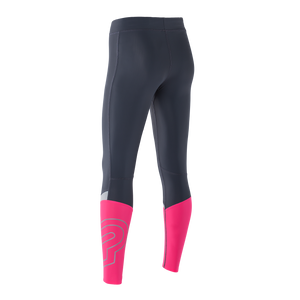 Zeropoint Compression tights black pink womens rear