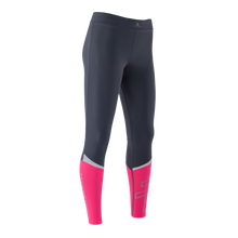 Load image into Gallery viewer, Zeropoint Compression tights black pink womens side