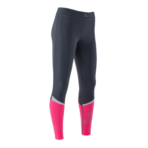 Zeropoint Compression tights black pink womens side