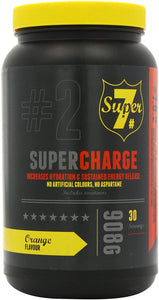 BIO-SYNERGY SUPER 7 SUPER CHARGE ORANGE - PRE-WORK OUT DRINK - SAVE 25%
