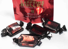 Load image into Gallery viewer, Caffeine Bullet Box of 20 Packs of 4 Chews Mint Flavour - SAVE 20%
