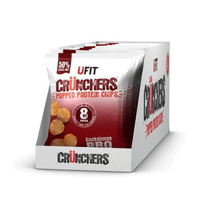 UFIT Crunchers Protein Crisps smokehouse BBQ
