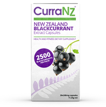 Load image into Gallery viewer, CurraNZ Capsules - Made From 100% Natural New Zealand Blackcurrants - 30 Capsules