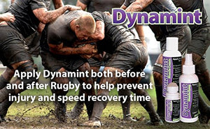 Dynamint 237ml muscle cream rugby