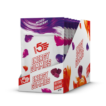 Load image into Gallery viewer, HIGH5 Gummies Energy Chews mixed berry box