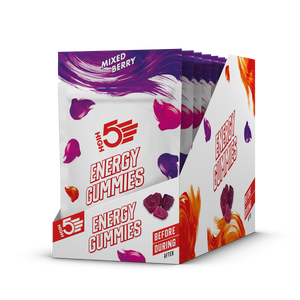 HIGH5 Gummies Energy Chews mixed berry box