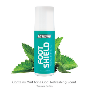 Foot Shield contains mint