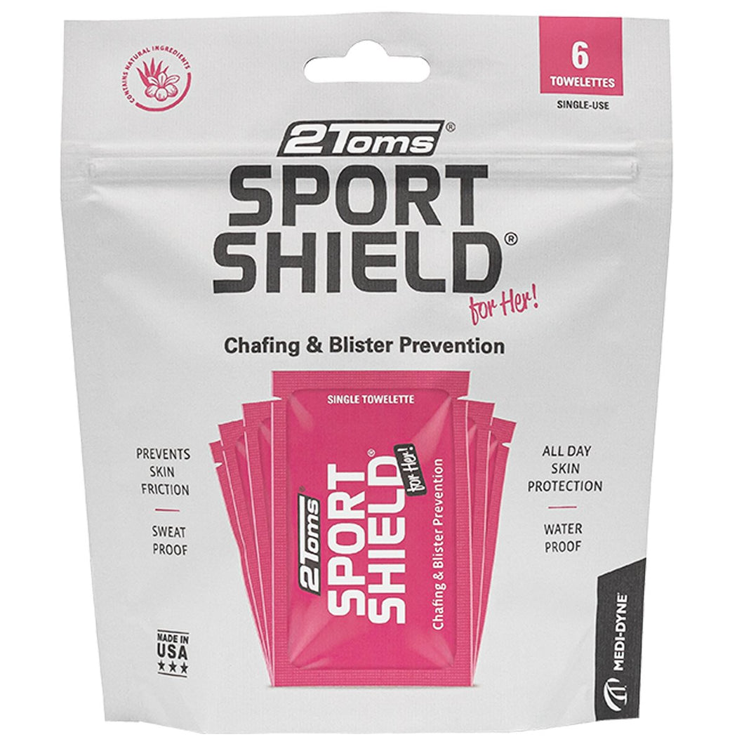 2Toms Sport Shield For Her Towelettes