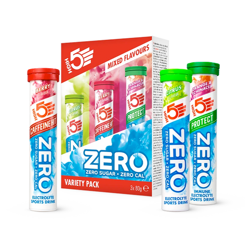 HIGH5 Zero Hydration Drink with Electrolytes - Variety Pack