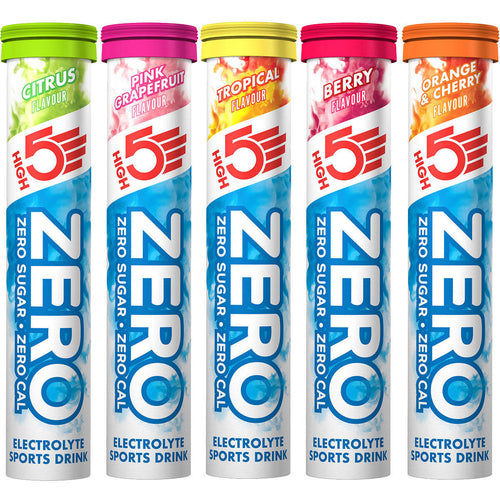 HIGH5 Zero Low Calorie Hydration Drink with Electrolytes tubes