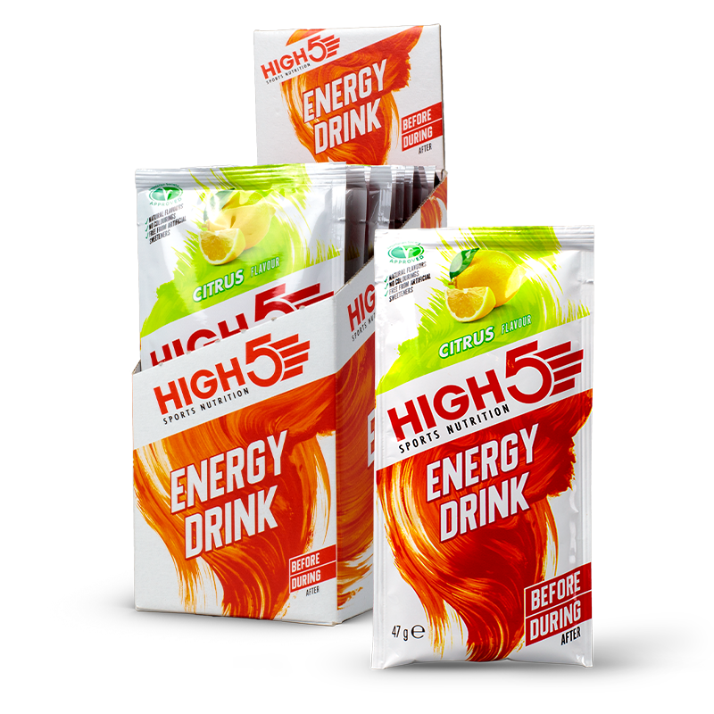 HIGH5 Energy Drink citrus sachets