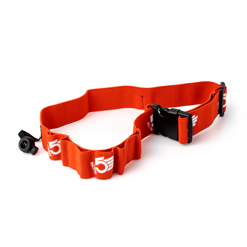 HIGH5 Race Number Belt With 6 Energy Gel Loops