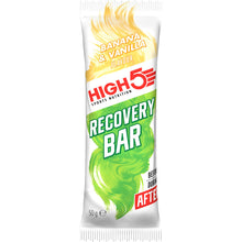 Load image into Gallery viewer, HIGH5 Protein recovery Bar Banana Vanilla pack