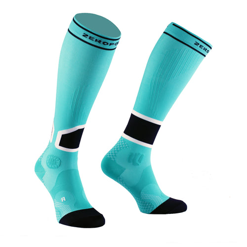 Zeropoint Intense 2.0 High Compression socks aqua