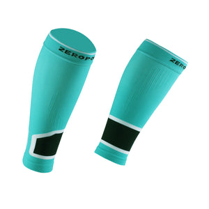 ZEROPOINT Intense 2.0 High Compression Calf Sleeves aqua