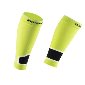 ZEROPOINT Intense 2.0 High Compression Calf Sleeves chartreuse