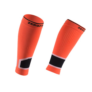 ZEROPOINT Intense 2.0 High Compression Calf Sleeves orange