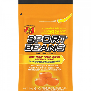 Sports Beans Orange Energy Beans With Carbs, Electrolytes and Vitamins