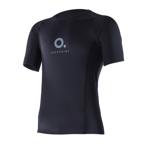 ZEROPOINT Performance Compression Short Sleeve Top Men, Black