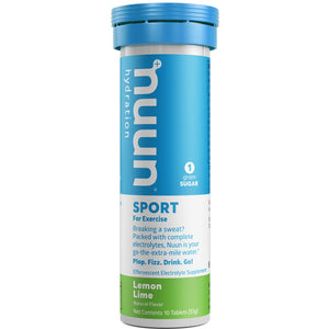 Nuun Sport Hydration Tabs with Electrolytes and Vital Minerals Lemon Lime