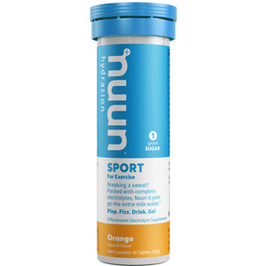 Nuun Sport Hydration Tabs with Electrolytes and Vital Minerals Orange