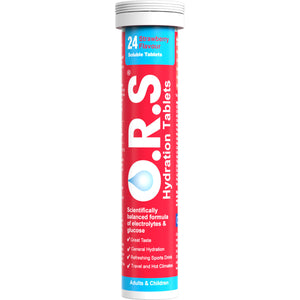 O.R.S Hydration Tablets 24S Strawberry