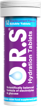 Load image into Gallery viewer, O.R.S Hydration Tablets 12S Blackcurrant
