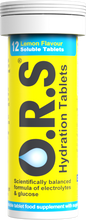 Load image into Gallery viewer, O.R.S Hydration Tablets 12S Lemon
