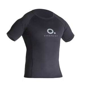 ZEROPOINT Performance Compression Short Sleeve Top Men, Black front