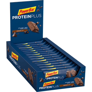 PowerBar 30% Protein Plus Bar Chocolate box
