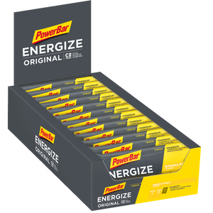 PowerBar Energize Bar box Banana