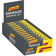 Load image into Gallery viewer, PowerBar Energize Bar Box Berry