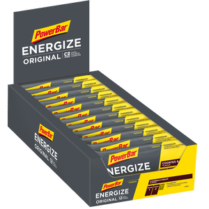 PowerBar Energize Bar box cookies & Cream
