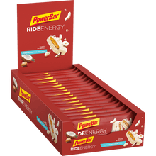 Load image into Gallery viewer, Powerbar Ride Energy Bar Coco-Hazelnut Caramel box