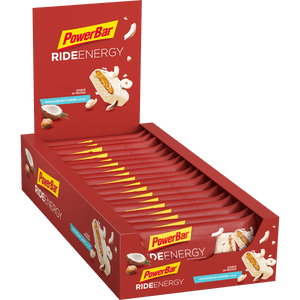 Powerbar Ride Energy Bar Coco-Hazelnut Caramel box