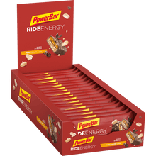 Load image into Gallery viewer, Powerbar Ride Energy Bar Peanut Caramel box