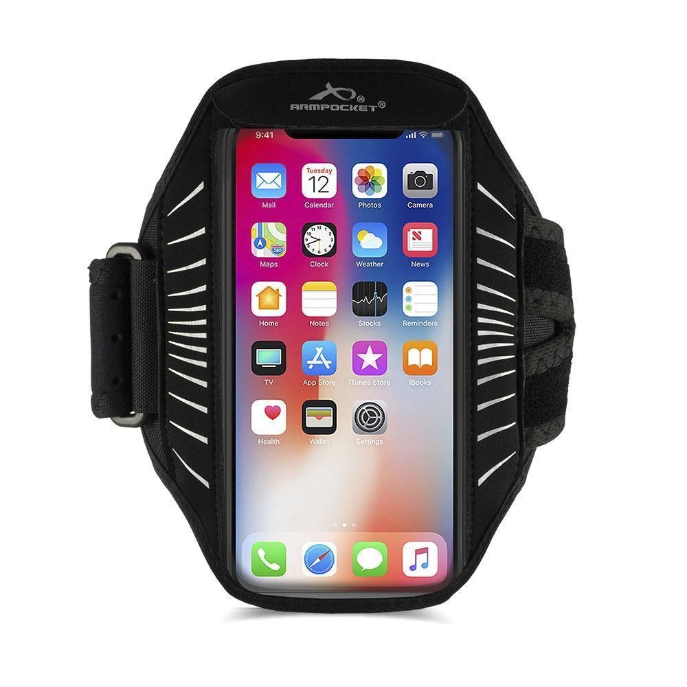 Armpocket Racer Edge, thin armband for iPhone 11/11 Pro/11 Pro Max, Galaxy Note 10/S20/S10+ and other full-screen devices