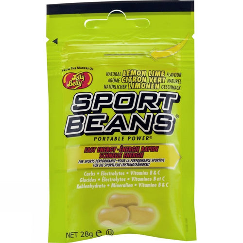 Sports Beans Lemon Lime Energy Beans With Carbs, Electrolytes and Vitamins