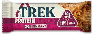 Trek Protein flapjack morning berry single