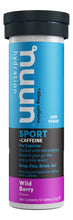 Load image into Gallery viewer, Nuun Sport + Caffeine Wild Berry tube