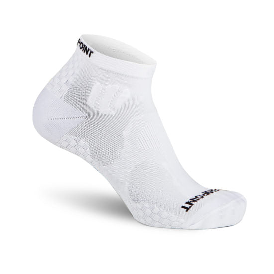 ZEROPOINT Ankle Socks - White