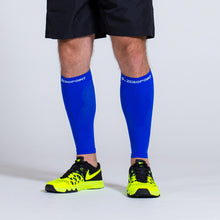 Load image into Gallery viewer, Zeropoint Compression calf sleeves blue men