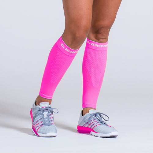 Zeropoint Compression calf sleeves Pink
