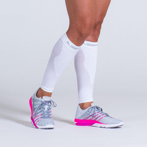 Zeropoint Compression calf sleeves white girl