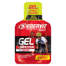 Load image into Gallery viewer, ENERVIT Energy Gel Citrus with caffeine